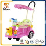 Outdoor baby kids swing play toy car adult push child swing toy car china
