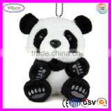 D886 Zoo Animal Panda China Style Stuffed Toy Plush Panda Keychain