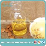 100% pure cold pressed debittered, sweet apricot kernel oil used for cooking oil made from Dragon King food