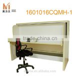 modern transformable murphy bed wall bed with desk mechanism