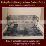 Collapsible Live Steel Wire Animal Trap Cage (Mouse,Rat,Raccoon,Squirrel,Martin,Bobcat,Fox,Cat)