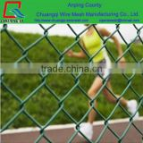 Manufacturer of fence for tennis court / PVC Coated Chain Link Fence Price/Electro Galvanized iron Fence