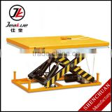 European original high-quality AC power Inmoveable 4T Motorcycle Standard Electric Double Scissor Lift Table