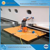 INquiry about Durable DWF Drop Stitch Inflatable Floating Docks Pontoon for Sale