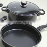 black steel pan stock