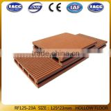 Wpc Hollow Outdoor Deck/wood plastic composite board/plastic skirting board