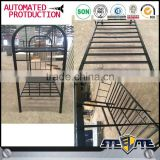Matte Black Metal Bunk Bed in malaysia / latest double bed designs