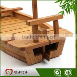 natural high quality bamboo sushi serving boat