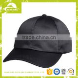 Fashion high quality satin baseball caps