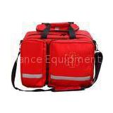 Red Travel First Aid Trauma 420D Red Custom First Aid Kit 55 * 32 * 29cm