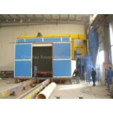 Foundry Hardwares Surface Cleaning Sand Blasting Booth