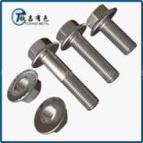High Strength Titanium Alloy Flanged Hex Nuts
