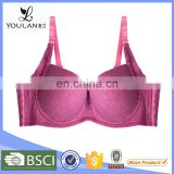 Wine Red Hot Selliing Bra Name Brand