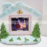 hotsale snow christmas tree picture photo frame