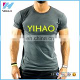 wholesale sports apparel custom muscle fitness t shirt