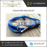 High Quality Paracord Bracelet from India at Low Price