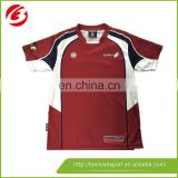 cheap price rugby shirt/ custom sublimated rugby jersey made in china