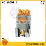 Natural juice machine,Orange Squeezer XC-2000E-3,Citrus juicer,Orange juicer