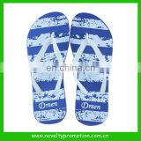 Full Printing Rubber Beach Slipper