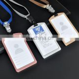 Wholesale oem hard id card working card id name badge holder
