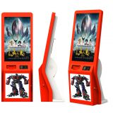 High quality 32 inch touch screen lobby standing alone cinema ticket vending Kiosk