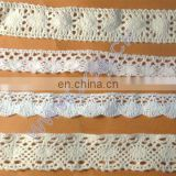 Cotton lace for fashion garment