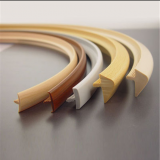 Hot selling kitchen cabinet flexible pvc t profile edge banding