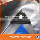 flexible transparent waterproof fabric for outdoor,pe tarpaulin with aluminum foil coating