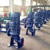 LW,WL Vertical inline sewage pump for wastewater