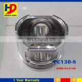 PC130-8 4D95 Engine Alloy Piston Kit 6206-33-2140