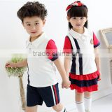 walson new design 2016 primary school uniform children's sports suits wholesale                                                                         Quality Choice