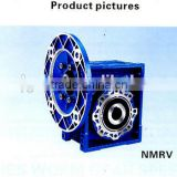 china small worm single reduction gearbox NMRV aluminium worm gearbox