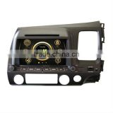 Factory car dvd player for Honda 2006-2011 Civic(right) with GPS/Bluetooth/Radio/SWC/Virtual 6CD/3G internet/ATV/iPod/DVR