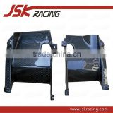 FOR EVO 10 EVO X CARBON FIBER INTERCOOLER SIDE PLATES FOR MITSUBISHI LANCER EVOLUTION 10 EVO X (JSK200805)
