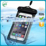 Hot sale and high quality PVC Phone Waterproof Bag For iPhone 6 For iPhone 6 Plus ,Waterproof Bag For Smart Phone