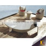 Factory Swimming Pool Wicker Rattan Daybed/rattan sunbed/Patio Sun lounger                                                                         Quality Choice