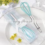 "2014 Newest Wedding Return Gift of ""Something Blue"" Kitchen Whisk for Party souvenirs"