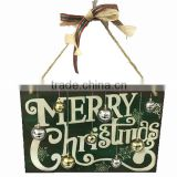 2016 fashion iron merry christmas wall plaque decoration