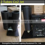 Good Price High Quality Disco Co2 Machine DJ 2 Heads Double Tubes Gas Jet With DMX Control