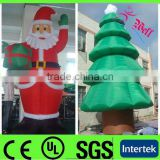 2013 new LED christmas inflatable / inflatable christmas tree / inflatable outdoor christmas decorations
