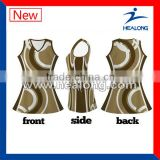 Fancy Fashion Netball Dress Netball Skirt With Digital Sublimation