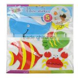 Color EVA Foam Sponge Cartoon Sticker Deco Sticker for Office Stationery Toys DIY Handcraft