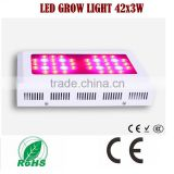 Hot-selling 126w (42x3w) Full Spectrum LED Grow Light for Greenhouse Garden Growing, Grow Light LED