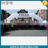 Outdoor giant inflatable finish line arch, inflatable sports games arch No. ar001 for adult