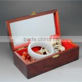 Hot sale china factory manufacture OEM wooden jewellery box,New high quality custom box for jewelry, gift box