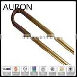 AURON home appliance water tubular heater/1.5kw ss tubular heater for washing machine /immersion heating element with thermostat