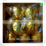 Plating gold plastic vacuum formed xmas decorative ball                                                                         Quality Choice