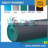 2-layers ESD mat 2mm 1.8mm green rubber antistatic 2015 hot