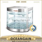 HW-350C 30-85 Degree Stainless Steel Electric Commercial Food Pizza Display Warmer                                                                         Quality Choice