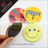 Factory wholesale Cute smile Face magnetic badge Custom magnetic round badges                                                                         Quality Choice